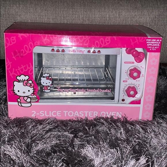 Hello Kitty Kitchen Hello Kitty Sanrio 2 Slice Toaster Oven Poshmark